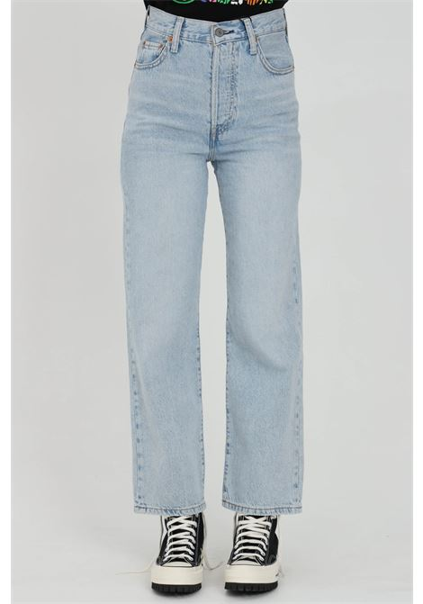 Jeans with super high waist and straight bottom LEVI'S | Jeans | 72693-00550055