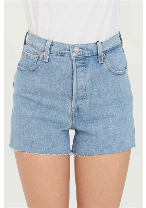 Shorts original high waist and bottom with raw cut LEVI'S | Shorts | 77879-00050005