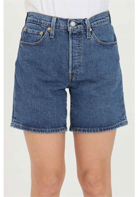 501 mid thigh denim shorts LEVI'S | Shorts | 85833-00070007