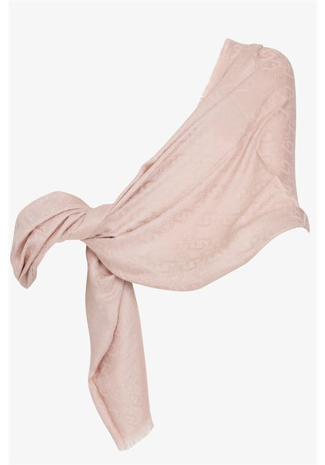 Jacquard stole with all-over pattern print LIU JO   Scarf   2A1026T030041310