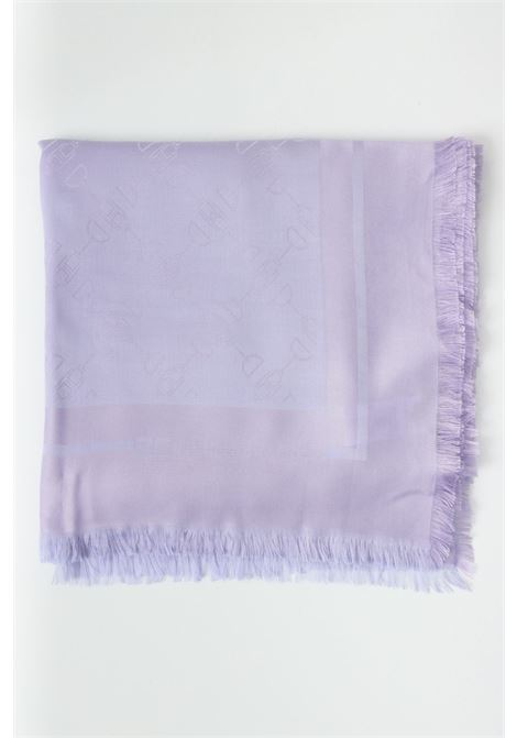 Jacquard stole with all-over pattern print. LIU JO   Scarf   2A1026T0300X0356