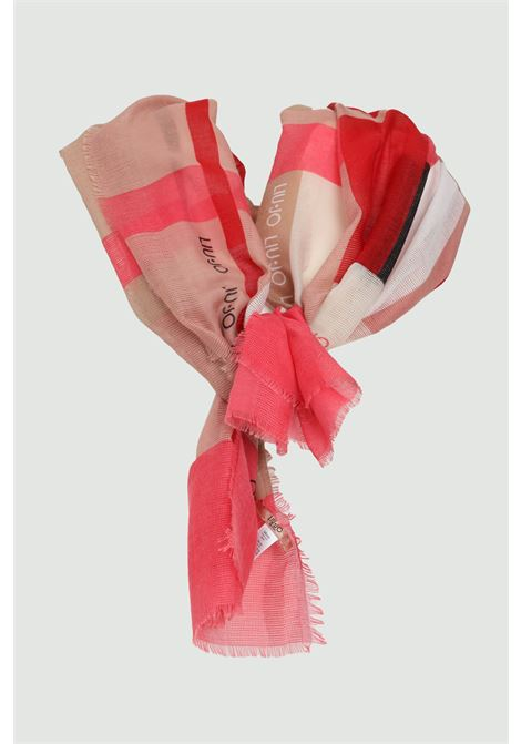 Glossy stole in fabric. Brand Liu Jo. Soft and comfortable printed model LIU JO | Scarf | 2A1091T030061620