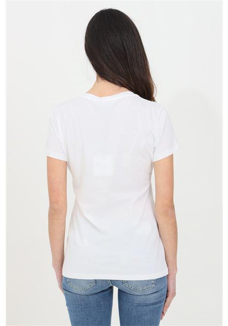T-shirt Liu Jo in cotone con stampa scarpe LIU JO | T-shirt | WA1332J5951T9756