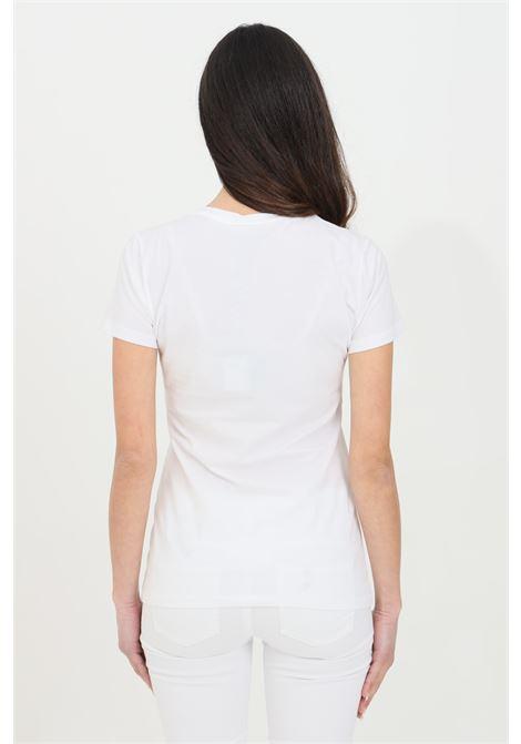 T-shirt girocollo con stampa sul fronte LIU JO | T-shirt | WA1569J0250T9734