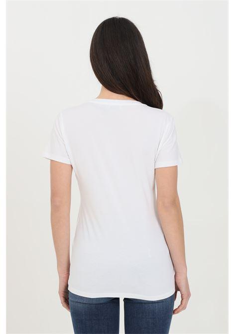 T-shirt girocollo con stampa sul fronte LIU JO | T-shirt | WA1569J0250T9928