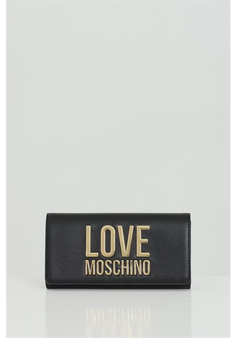 Wallet with metal logo lettering LOVE MOSCHINO | Wallet | JC5614PP1C-LJ000A