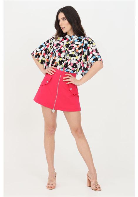 Fuchsia casual shorts. Love moschino LOVE MOSCHINO | Shorts | W157580E2245O49