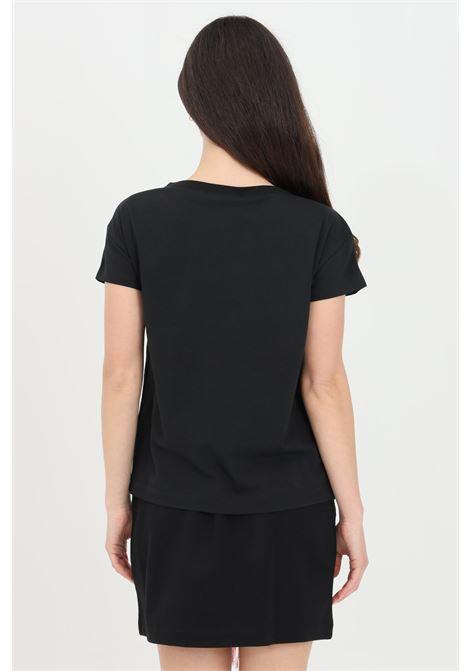 T-shirt donna nero love moschino a manica corta LOVE MOSCHINO | T-shirt | W4F302GE1951C74