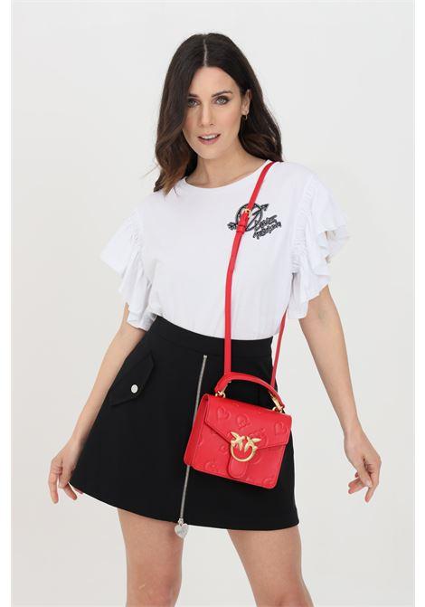 T-shirt donna bianco love moschino a manica corta LOVE MOSCHINO | T-shirt | W4H4101M3876A00