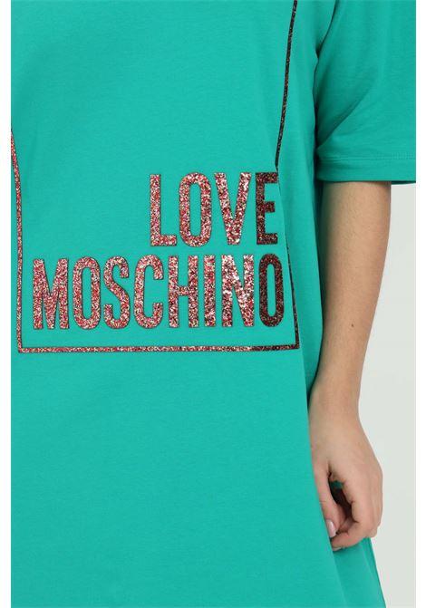 Abito con maxi logo sul fronte LOVE MOSCHINO | Abiti | W592329E2180S60