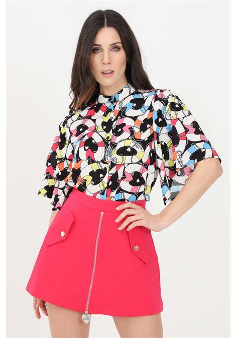 Camicia donna multicolor love moschino casual LOVE MOSCHINO | Camicie | WCE0800T109A0014