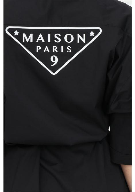 Dress with belt at the waist MAISON 9 PARIS | Dress | M9A7127NERO