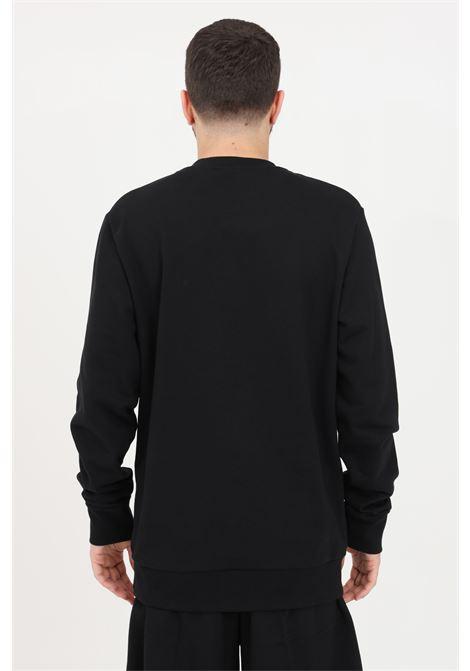 Black crew neck sweatshirt. Maison 9 paris  MAISON 9 PARIS | Sweatshirt | M9F2107NERO