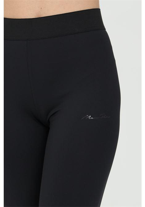 Black leggings in solid color with tone on tone elastic waistband. Maison 9 paris MAISON 9 PARIS | Leggings | M9FP662NERO