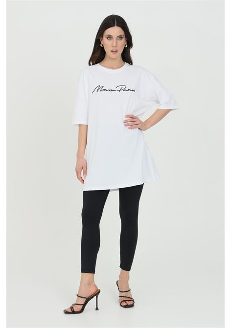 Solid color leggings and tone on tone elastic waistband MAISON 9 PARIS | Leggings | M9FP662NERO