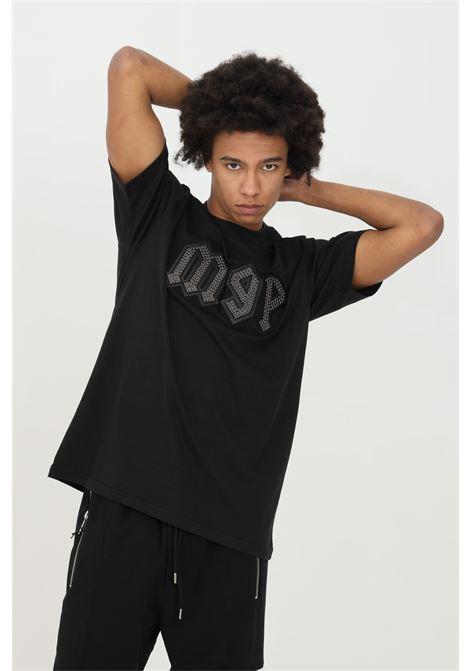 T-shirt with studs on the front MAISON 9 PARIS | T-shirt | M9M2229NERO