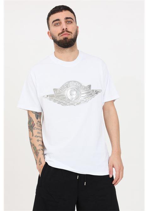 T-shirt uomo bianco maison 9 paris a manica corta MAISON 9 PARIS | T-shirt | M9M2239BIANCO
