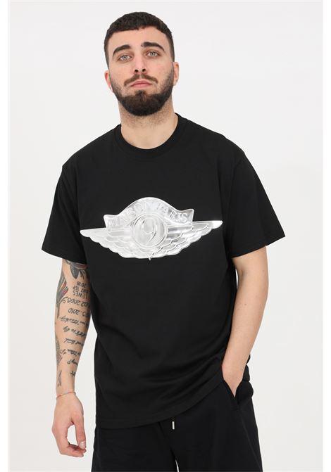 T-shirt uomo nero maison 9 paris a manica corta MAISON 9 PARIS | T-shirt | M9M2239NERO