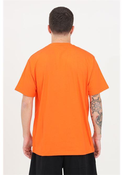 T-shirt uomo arancio maison 9 paris a manica corta MAISON 9 PARIS | T-shirt | M9M2257ARANCIO