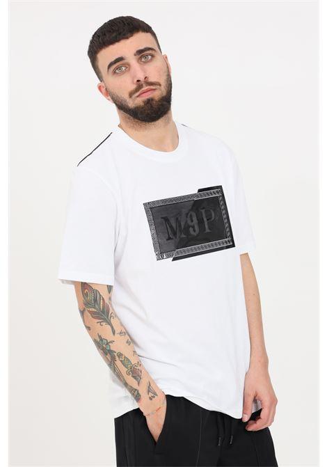 White t-shirt, short sleeve. Maison 9 paris MAISON 9 PARIS | T-shirt | M9M2260BIANCO-NERO