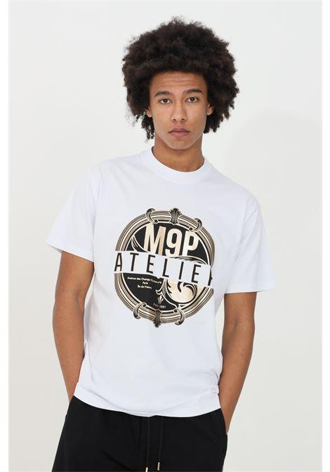 Round neck Dunstan river T-shirt MAISON 9 PARIS | T-shirt | M9M2267BIANCO-ORO