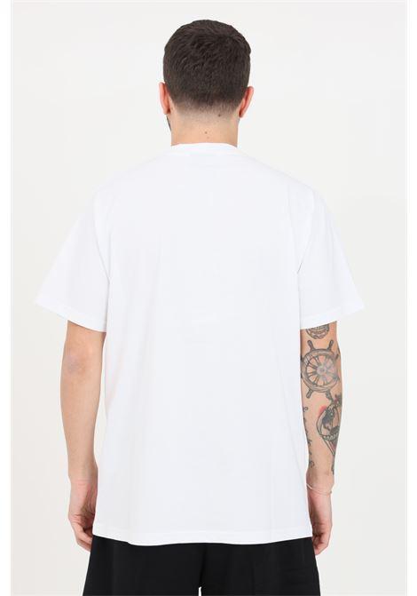 White t-shirt with short sleeves. Maison 9 paris MAISON 9 PARIS | T-shirt | M9M2283BRONZO