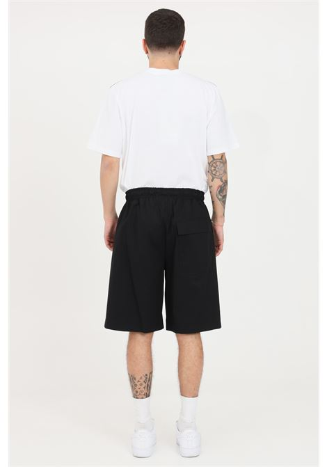 Black casual shorts with elastic waistband. Maison 9 paris  MAISON 9 PARIS   Shorts   M9S5067NERO-NERO