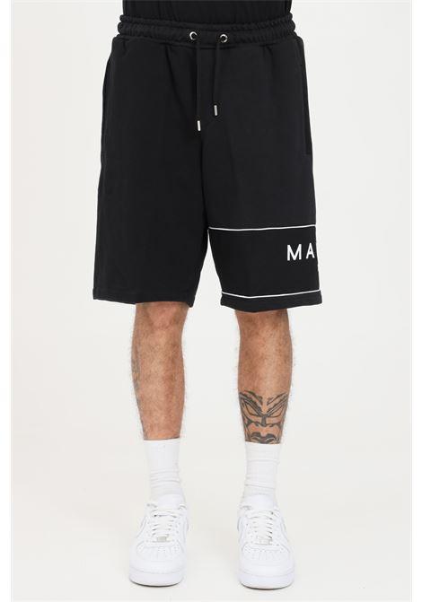 Black casual shorts. Maison 9 paris MAISON 9 PARIS | Shorts | M9S5068NERO-NERO