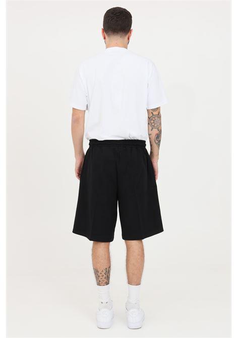 Shorts uomo nero maison 9 paris casual MAISON 9 PARIS | Shorts | M9S5090NERO-ARGENTO
