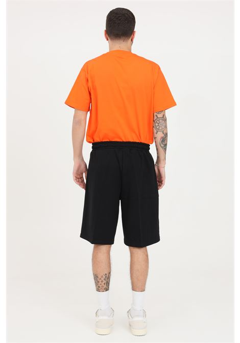Shorts uomo nero maison 9 paris casual MAISON 9 PARIS | Shorts | M9S5090NERO-ORO