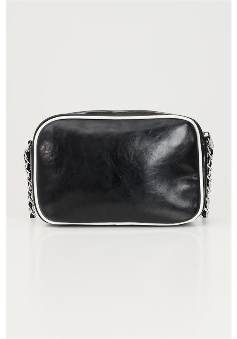 Black bag with shoulder strap in fabric and chain. Marc ellis MARC ELLIS | Bag | ALISON-D20BLACK