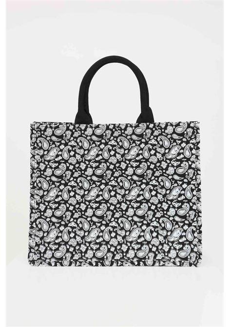 Black shopper with embroidered logo on the front. Marc ellis  MARC ELLIS | Bag | BUBY-BANDANANERO