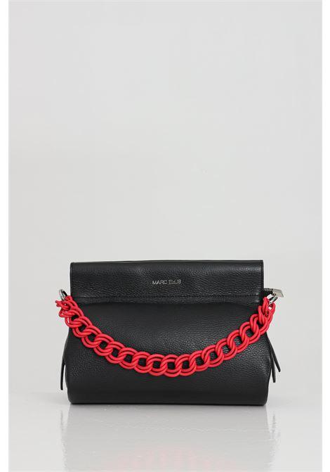 Black debra bag with chain shoulder strap, closure with magnet and zip. Inner pocket. Marc ellis  MARC ELLIS | Bag | DEBRANERO