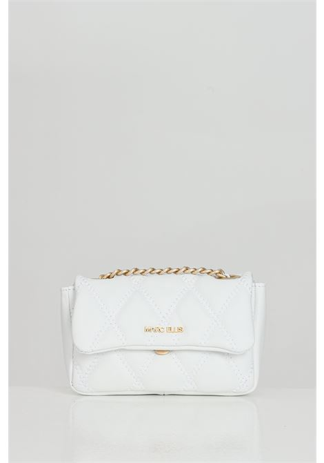 Bag with shoulder strap characterized by quilted effect  MARC ELLIS | Bag | DESDEMONA-SBIANCO