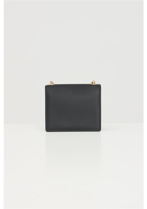Black bag with chain shoulder strap. Marc Ellis MARC ELLIS | Bag | FLAT SUPERMEE.