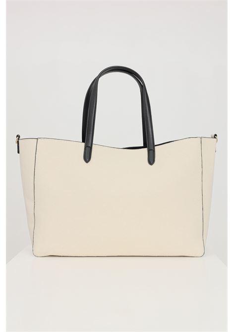Beige shopper in fabric. Marc ellis  MARC ELLIS | Bag | HAIDABEIGE