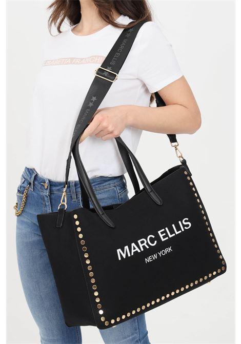 Black shopper in fabric. Marc ellis  MARC ELLIS | Bag | HAIDANERO