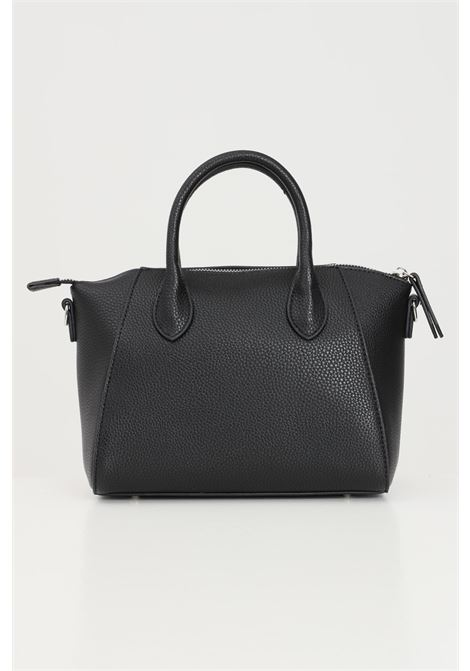 Black shoulder bag with multicolor logo print. Marc ellis MARC ELLIS | Bag | IVETTE-SNERO