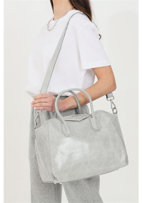 Borsa donna perla marc ellis con doppio manico, tracolla regolabile e removibile. Chiusura con zip, tasche interne con e senza zip MARC ELLIS   Borse   MARGARET-M-VINTAGEPERLA