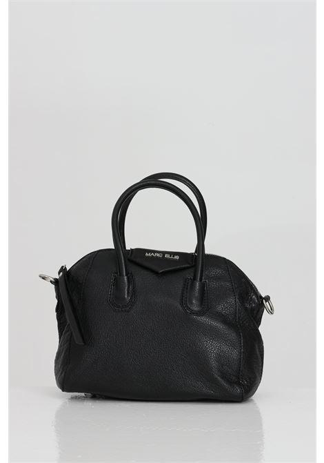 Black bag with removable shoulder strap, zip closure, internal compartments. Marc ellis MARC ELLIS | Bag | MARGARET-S-SOFTNERO