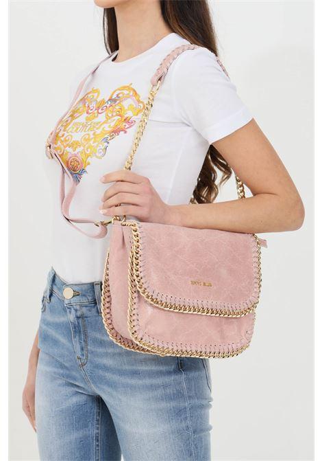 Borsa Winona S donna rosa marc ellis con tracolla in pelle removibile. Chiusura con bottone a pressione. Catena in metallo sui profili MARC ELLIS   Borse   WINONA-S-VINTAGECIPRIA