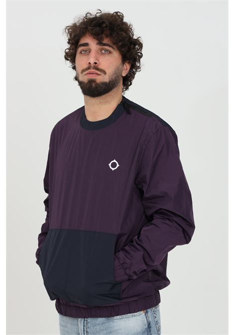 Purple windbreaker, long sleeves, brand: Ma.strum MA.STRUM | Jacket | MAS1474M526