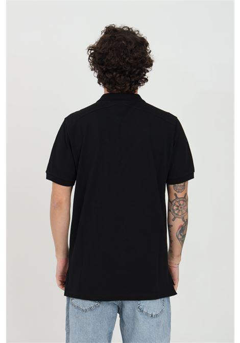 Black men's polo shirt with buttons, brand: Ma.strum MA.STRUM | Polo Shirt | MAS4464M000