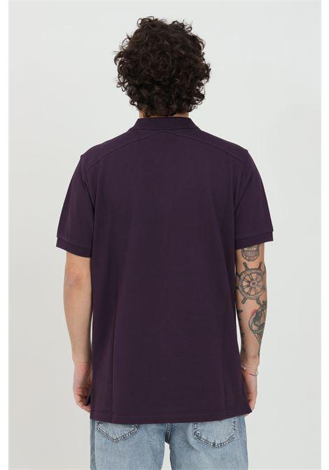 Purple men's polo shirt with buttons, brand: Ma.strum MA.STRUM | Polo Shirt | MAS4464M526