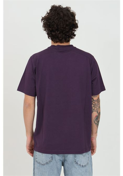 T-shirt uomo viola Ma.strum a manica corta modello girocollo MA.STRUM | T-shirt | MAS8371M526