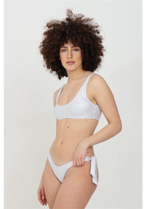 Silver bikini with glitter. Matinee MATINèE | Beachwear | CB2039ARGENTO