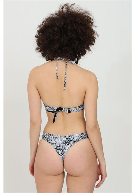 Beachwear costume donna pitone matinee bikini completo con ferretto. Modello brasiliana e chiusura al collo MATINèE | Beachwear | CB2071PITONE