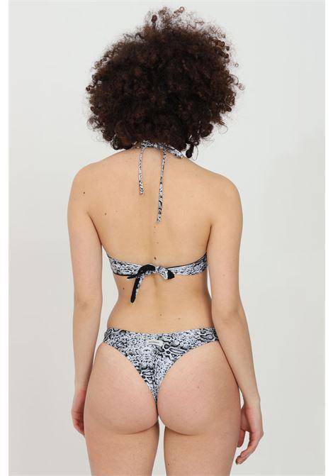 Python bikini with underwire, brazilian model and neck closure. Matinee MATINèE | Beachwear | CB2071PITONE