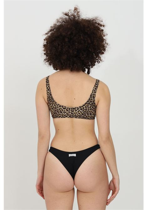 Leopard slip with ribbed inserts, no closures. Matinee  MATINèE | Beachwear | EM2086.