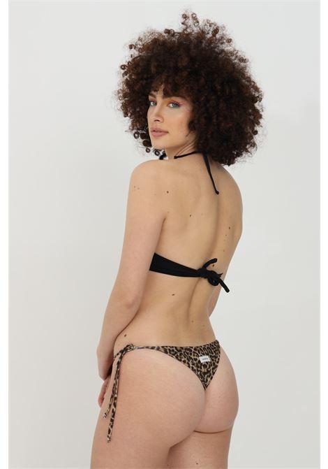 Beachwear costume donna maculato matinee slip mare chiusura laterale con fiocco MATINèE | Beachwear | EM2088MACULATO
